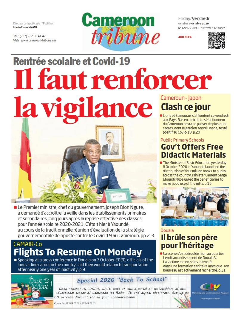 Cameroon Tribunes Magazine